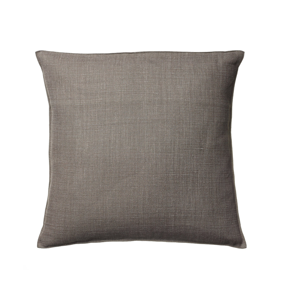 Linen Napoli Pillow in Cafe Noir Image 1