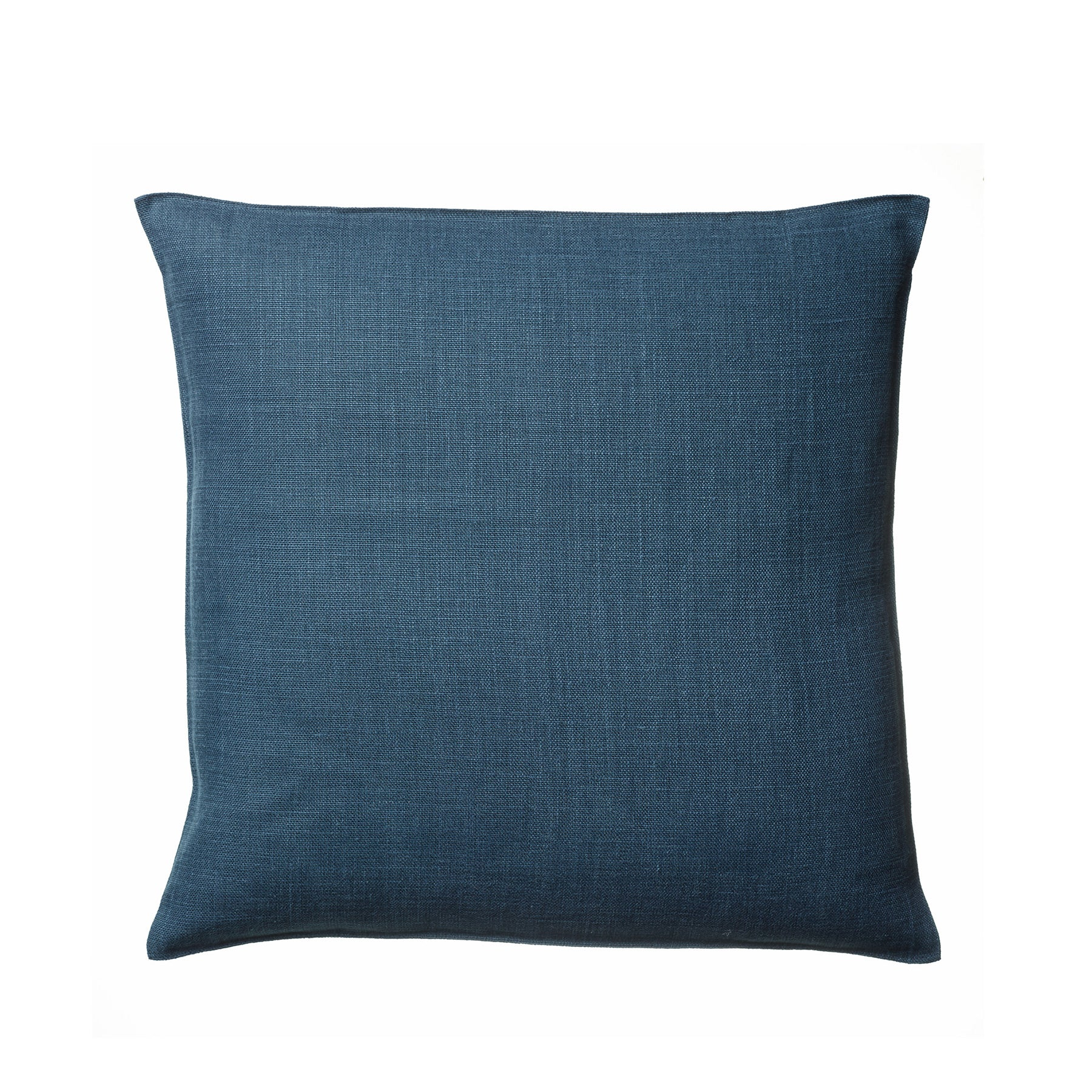 Linen Napoli Pillow in Navy Zoom Image 1