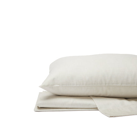 Organic Cotton Jaspe Sheet Set in Sage