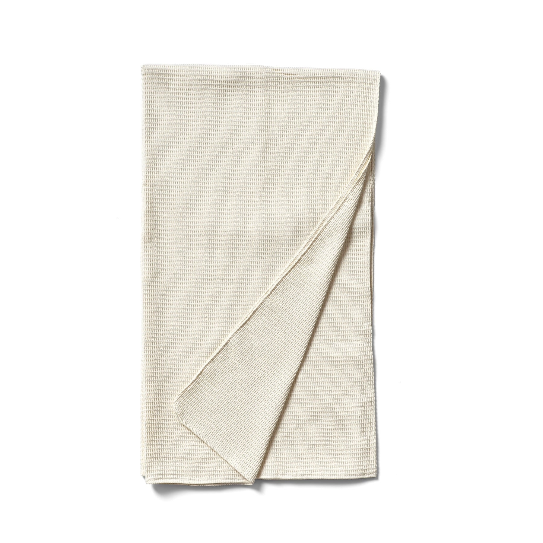 Native Organic Organic Cotton Waffle Weave Throw In Natural Heath Ceramics