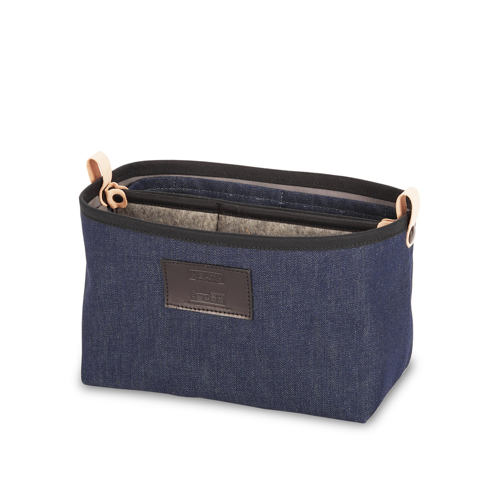 Organizer Bucket in Denim Image 2