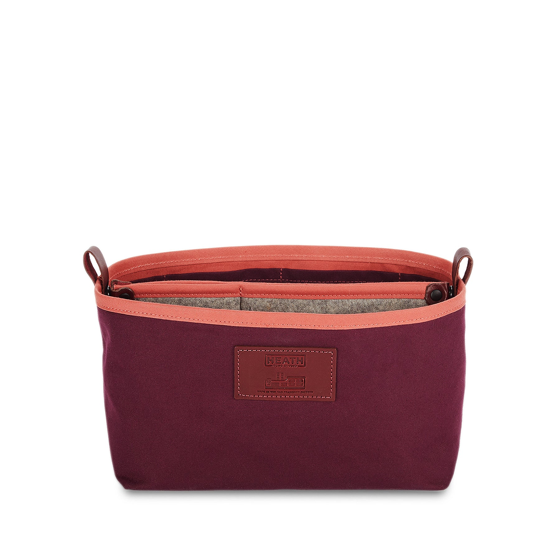 Organizer Bucket in Plum Zoom Image 1