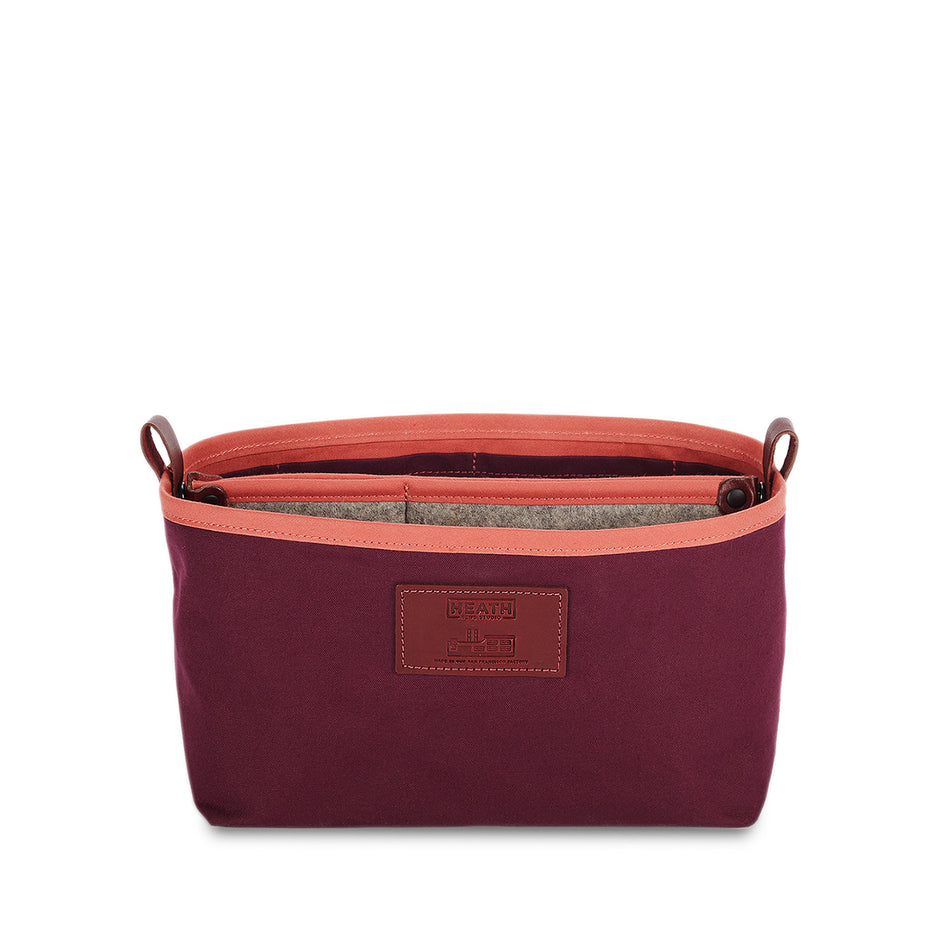 Organizer Bucket in Plum Image 1
