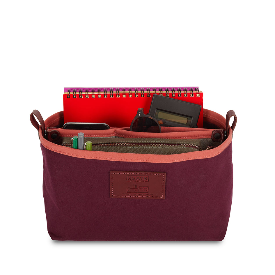 Organizer Bucket in Plum Zoom Image 4