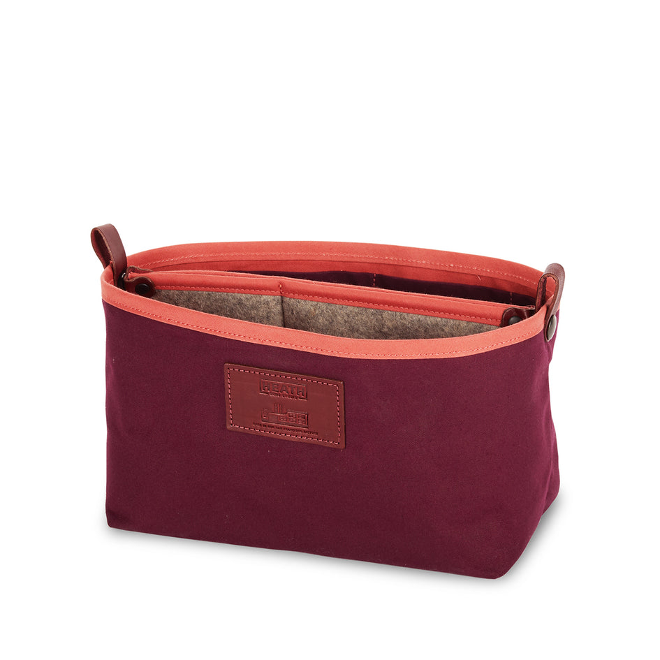 Organizer Bucket in Plum Image 2