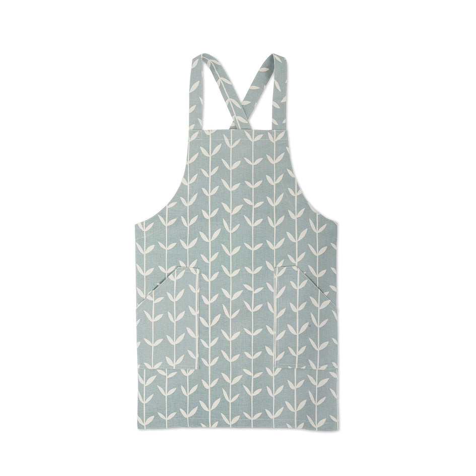 Orla Pinny Apron in Wedgewood Image 1