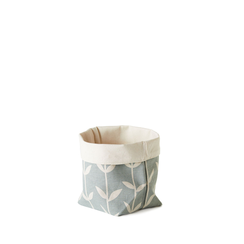 Orla Small Soft Bucket in Wedgewood Image 1