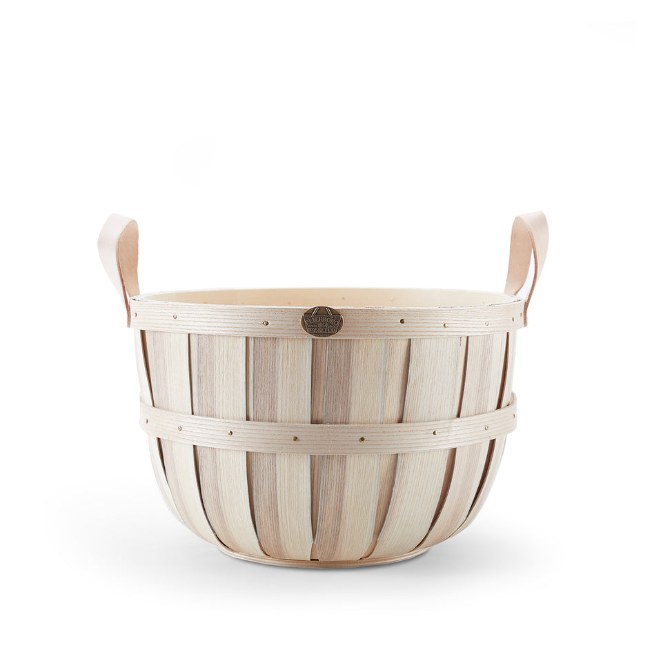 Oxford Basket in Natural Tan Leather Image 1
