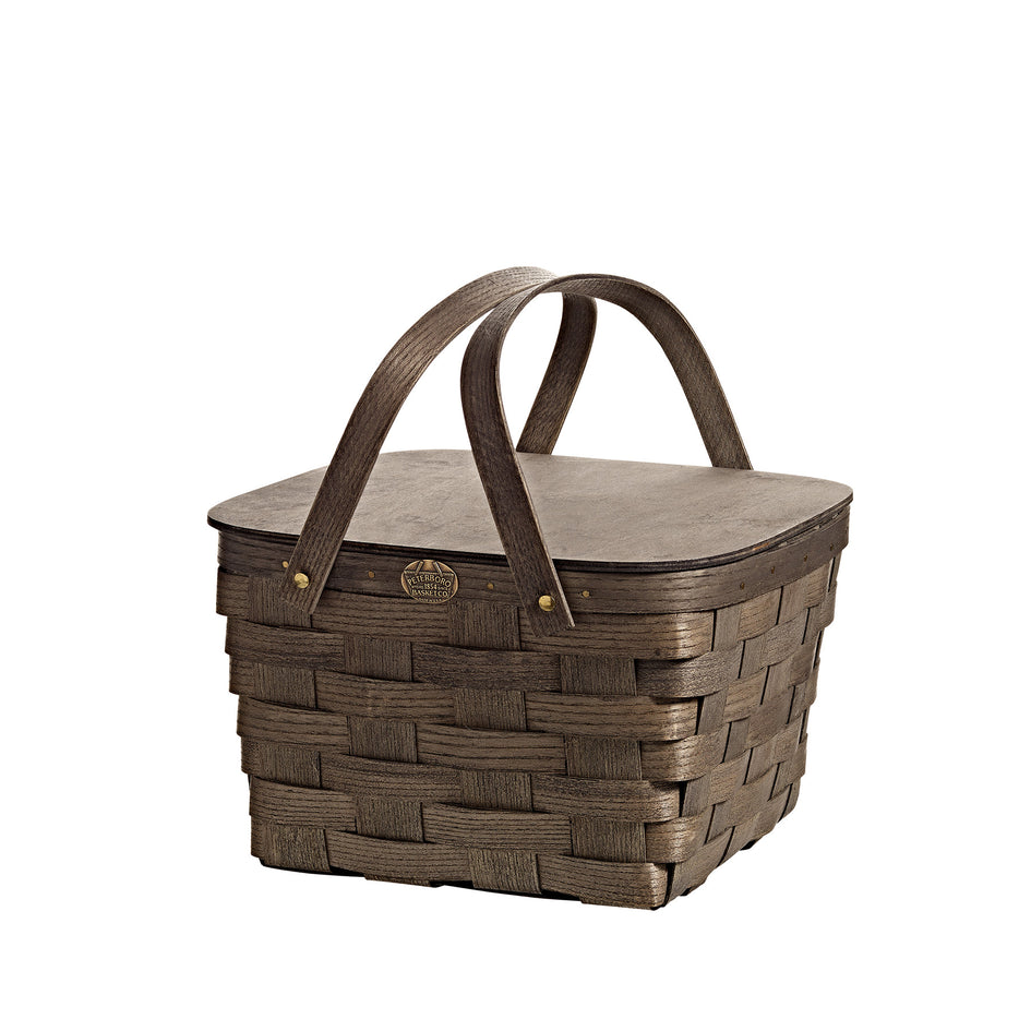 Pie Basket in Driftwood Grey Image 1
