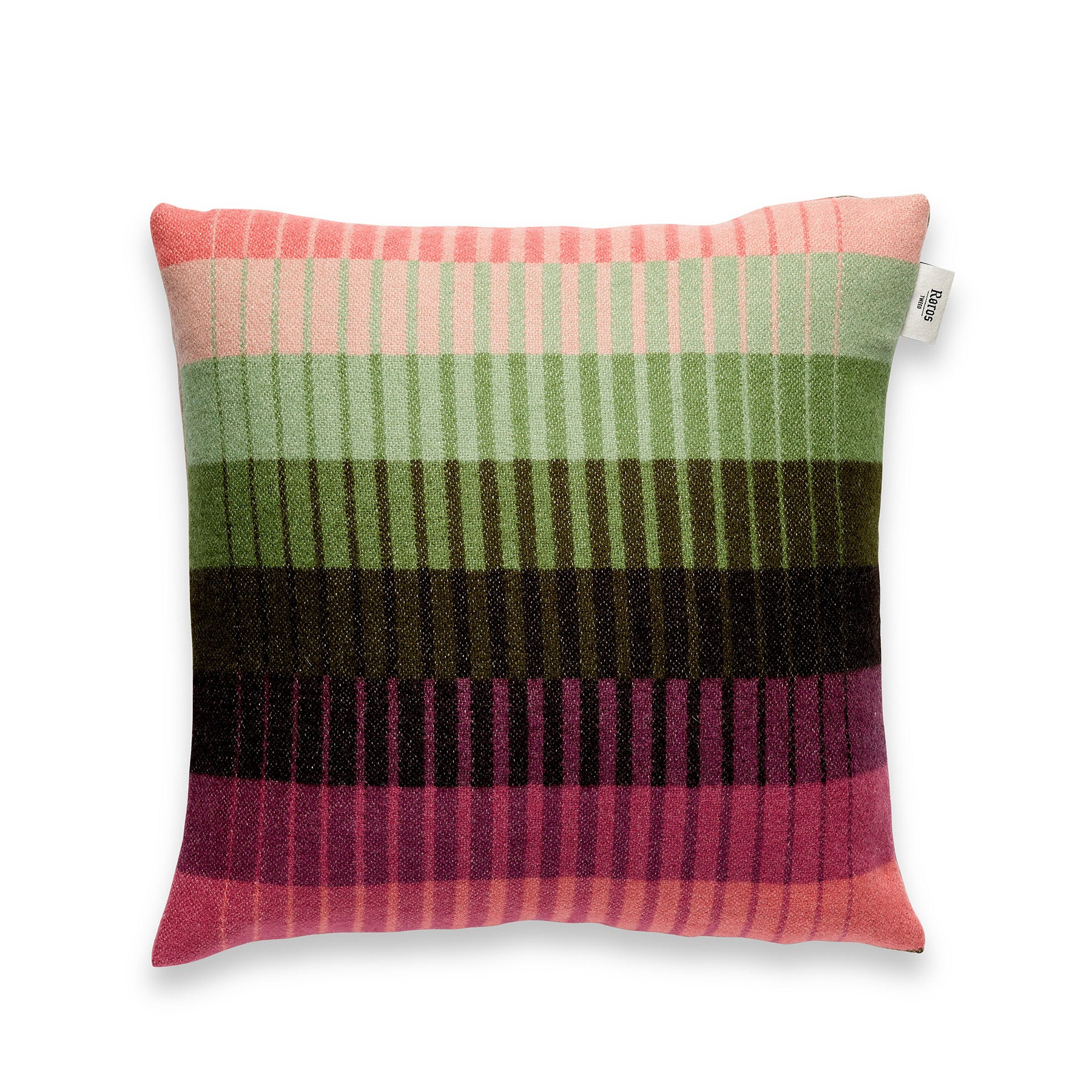 Pillow Asmund Gradient in Pink Green Zoom Image 1