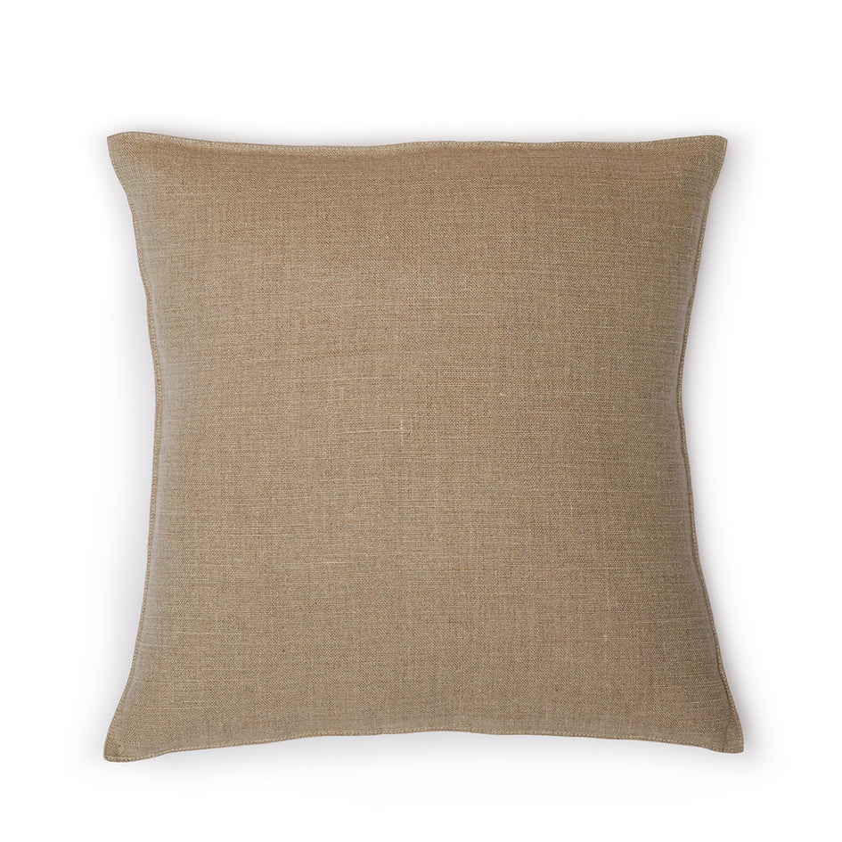 Linen Napoli Pillow in Flax Image 1