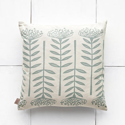 Protea Pillow in Wedgewood