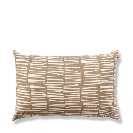 Woodpile Pillow in Cocoa