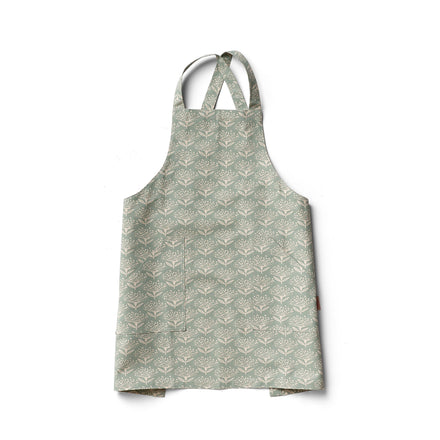 Pincushion Pinny Apron in Wedgewood
