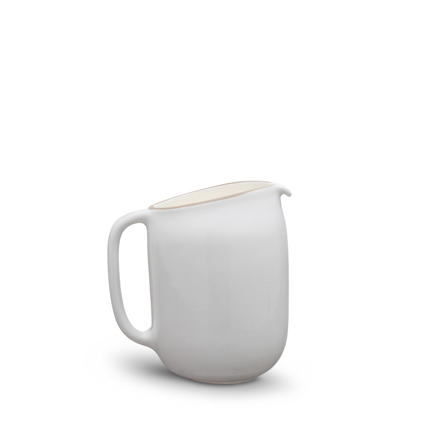 Pitcher - Opaque White