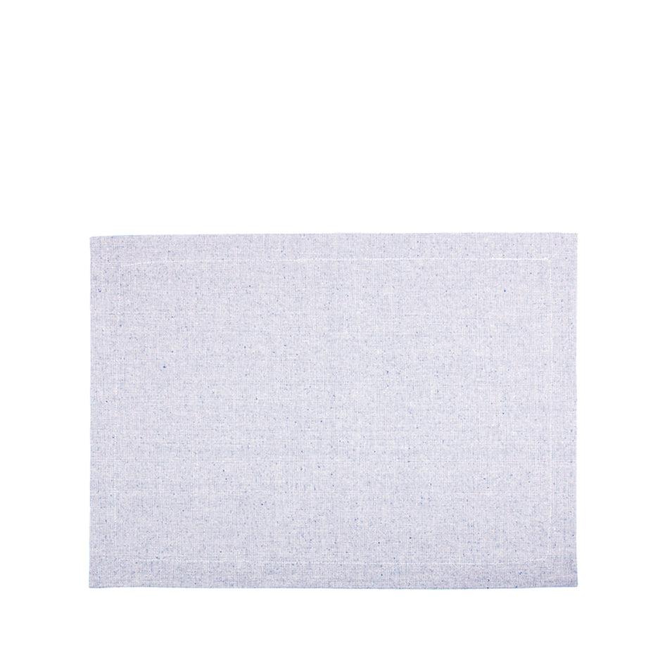 Organic Cotton Placemat in Blue Image 1