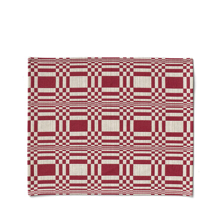 Doris Placemat in Burgundy