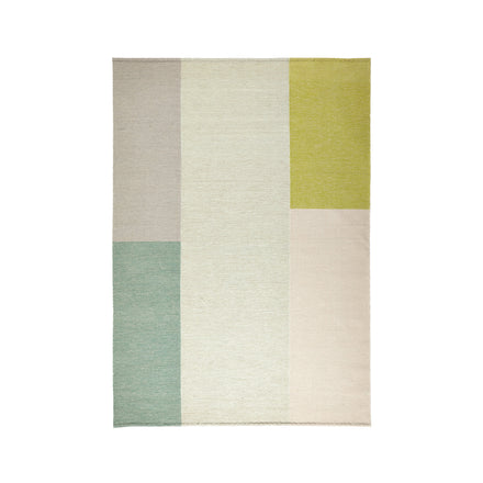 Wool Pleat Rug in Sage