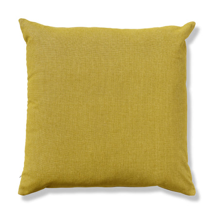 Plush Crush Pillow in Egg Yolk