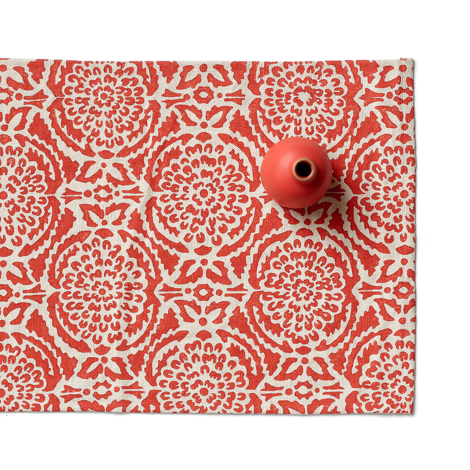 Pomegranate Runner in Red Image 1