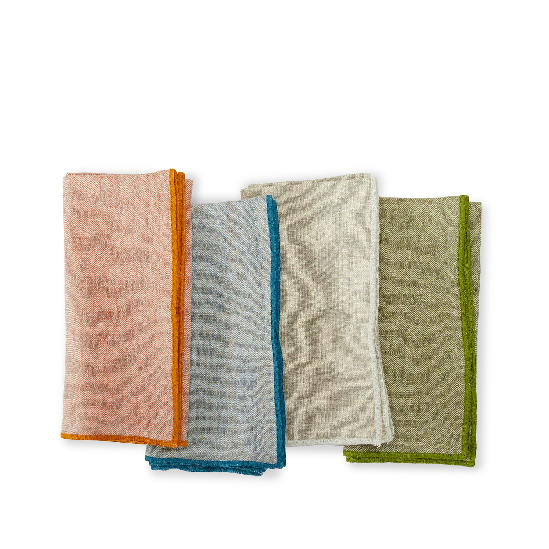 Purl Stitch Chalk Napkins (Set of 2) Zoom Image 2