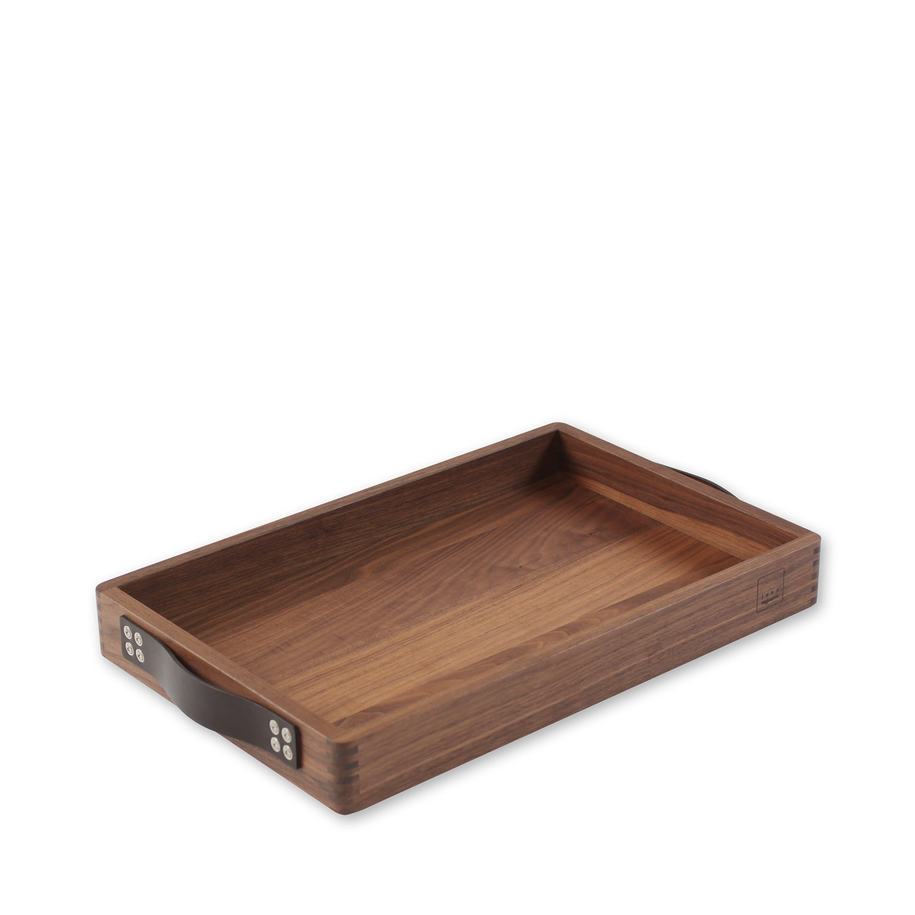Rectangular Walnut Serving Tray Zoom Image 1