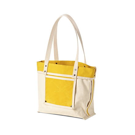 Reversible Tote in Bright Yellow