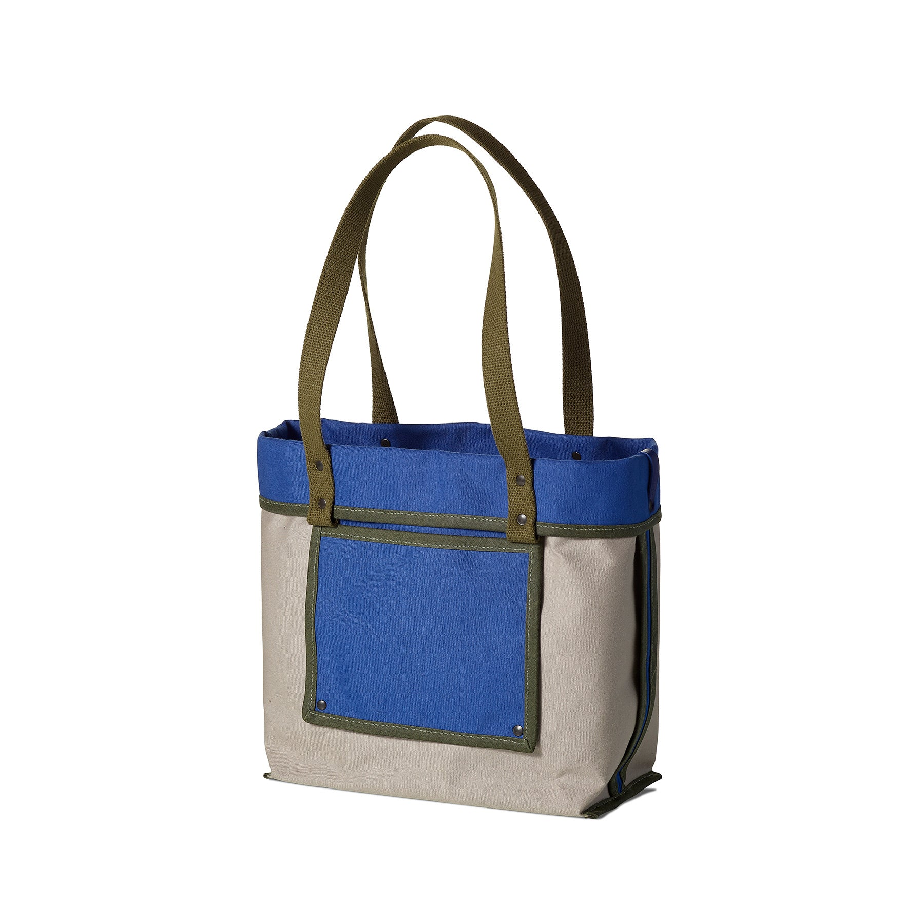 Reversible Tote in Opal Blue Zoom Image 1