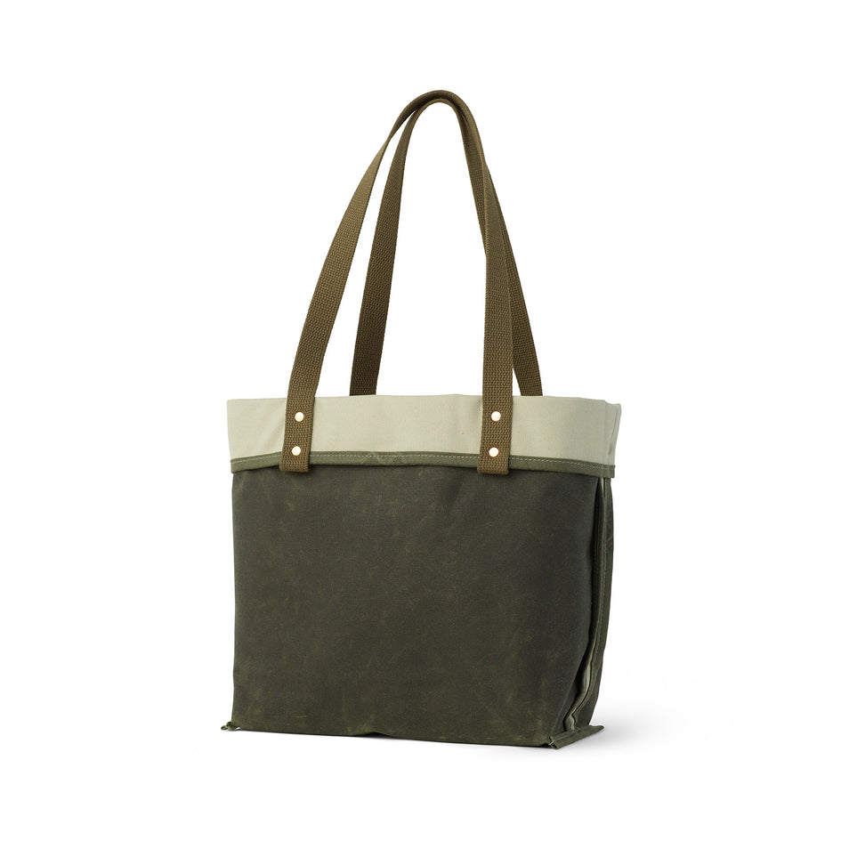 Reversible Tote in Sage Image 2