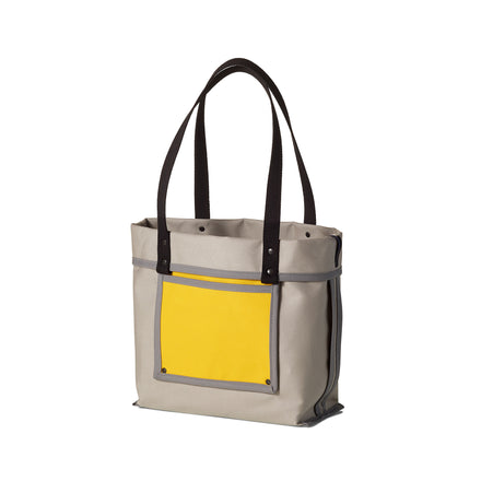 Reversible Tote in Stone Grey