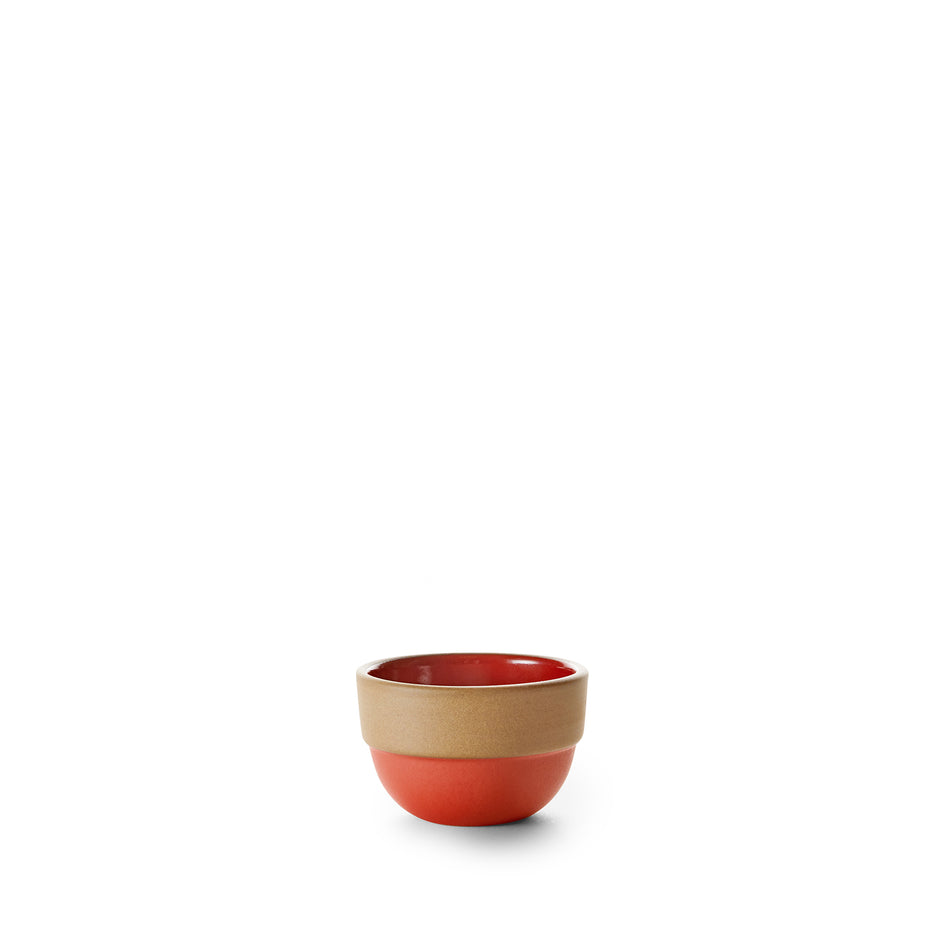 Rim Mini Bowl in Ruby Red/Suede Red Image 1