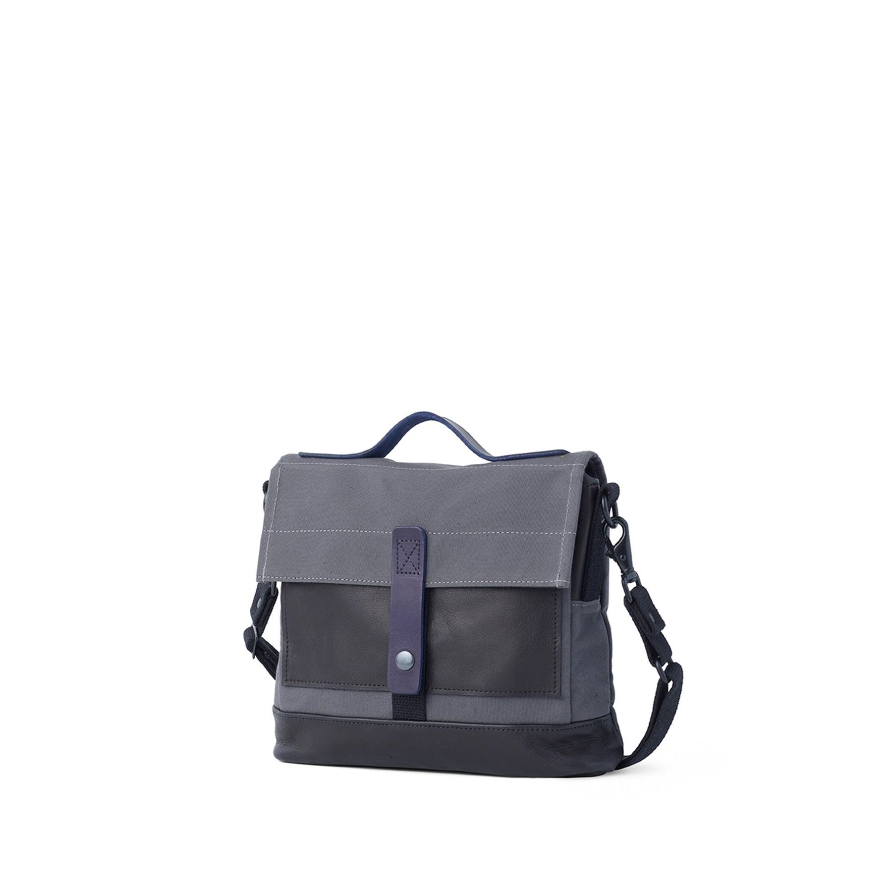 Heath + Stein Satchel in Gunmetal Zoom Image 1