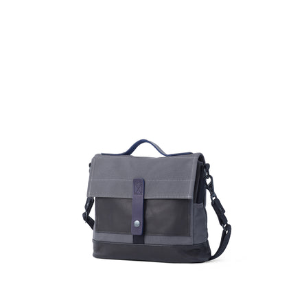 Heath + Stein Satchel in Gunmetal