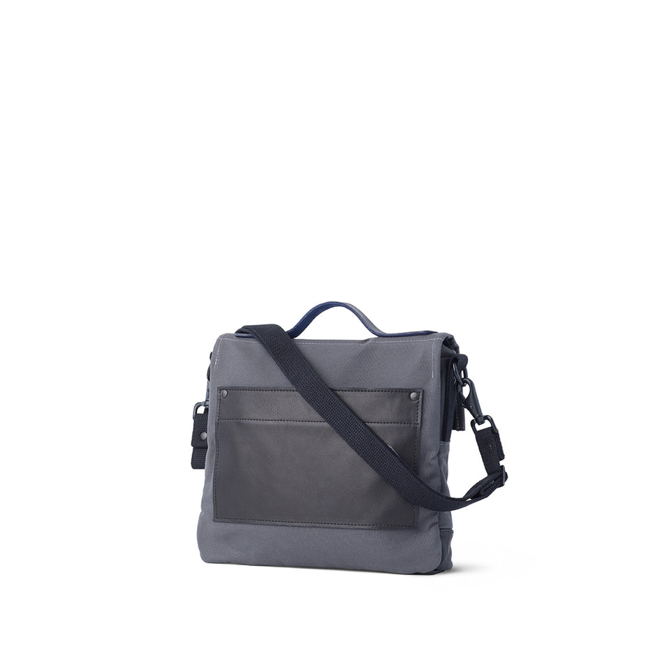 Heath + Stein Satchel in Gunmetal Zoom Image 2
