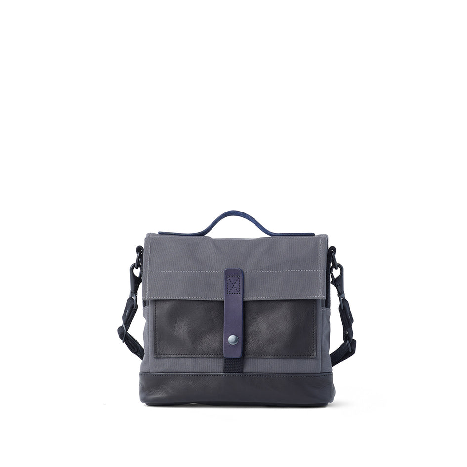 Heath + Stein Satchel in Gunmetal Zoom Image 3