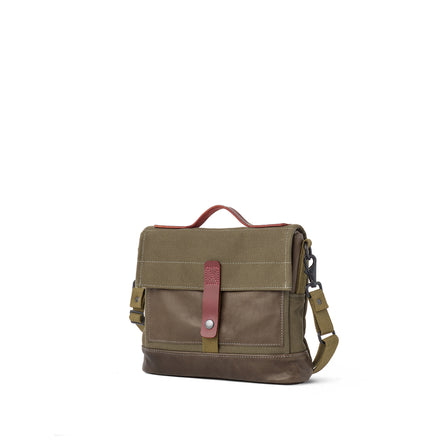 Heath + Stein Satchel in Kelp