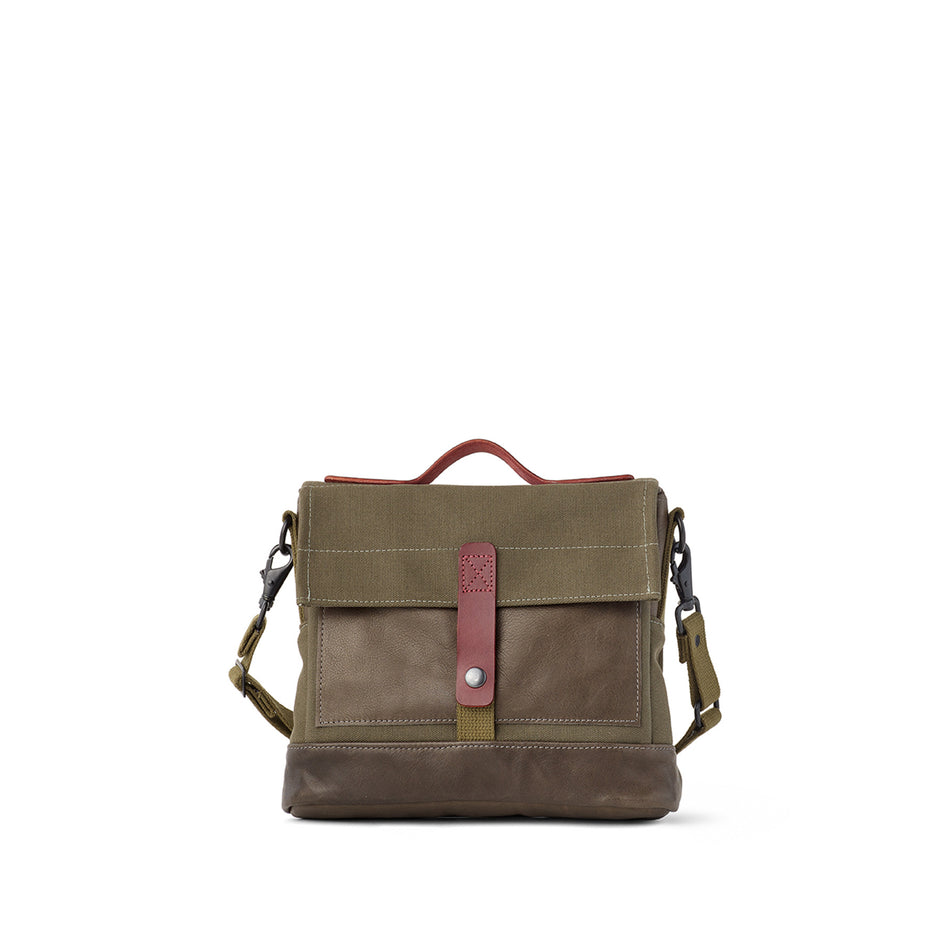 Heath + Stein Satchel in Kelp Image 3
