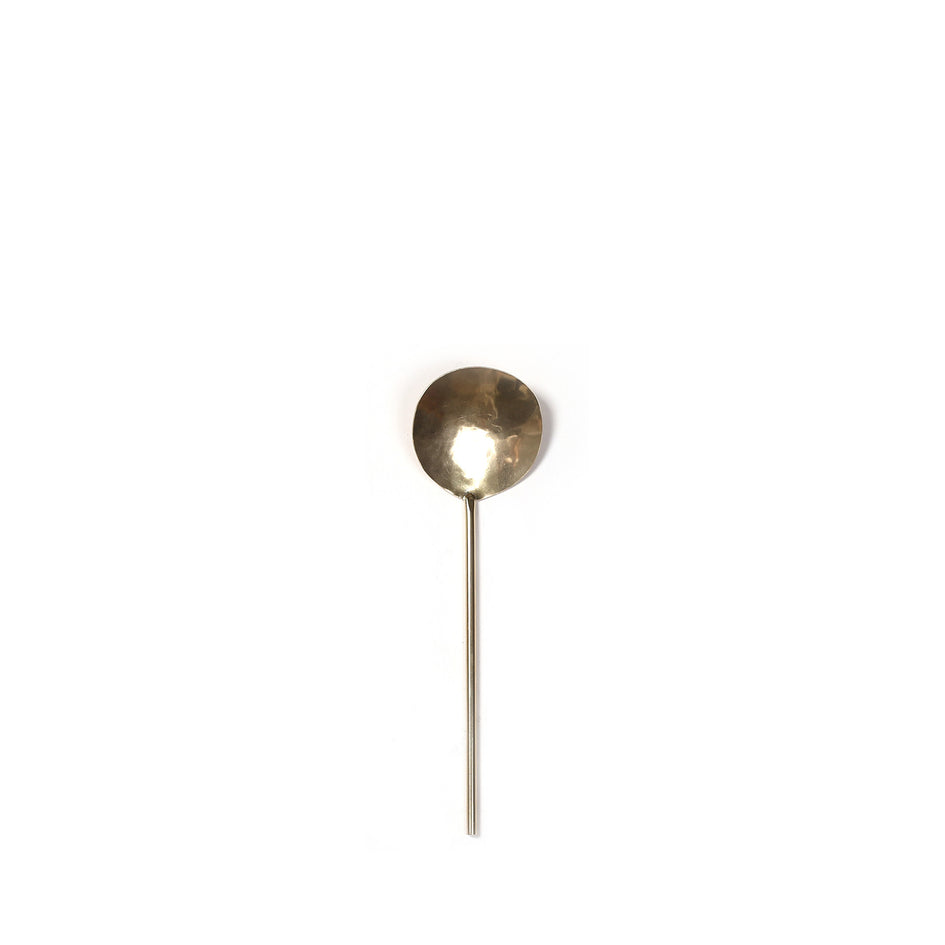 Brass Serving Spoon Image 1