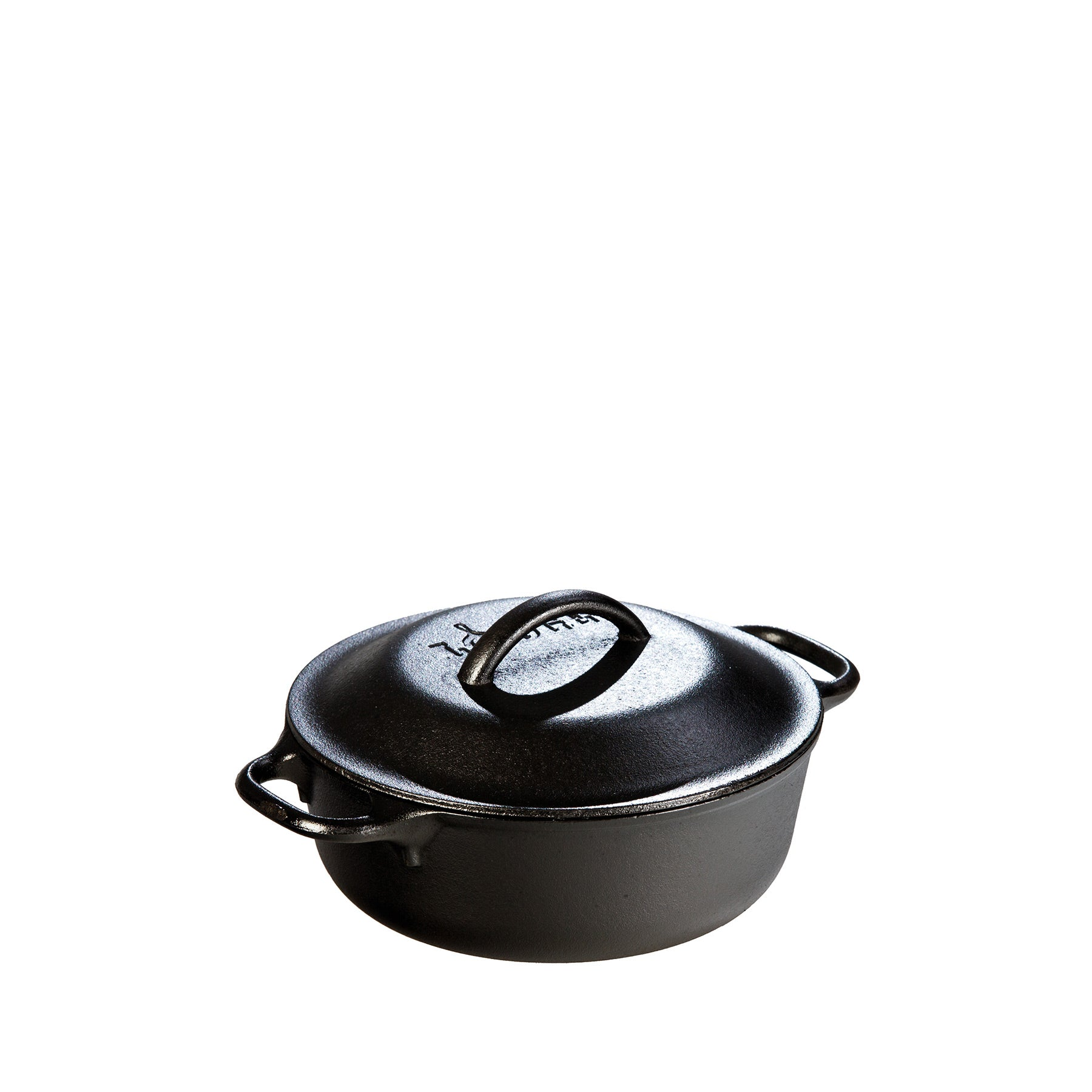 Cast Iron Serving Pot 2qt Zoom Image 1