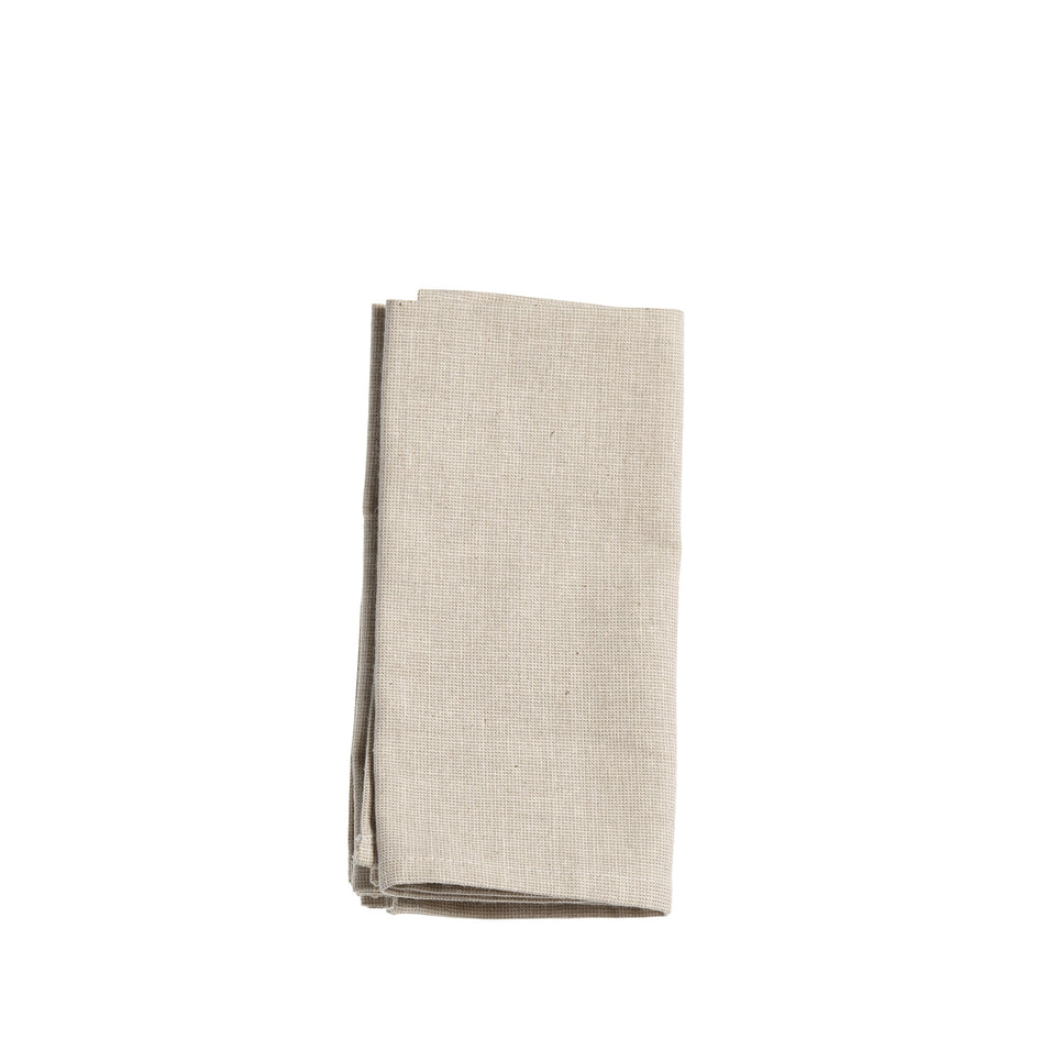 Organic Cotton Solid Napkins (Set of 4) Image 1
