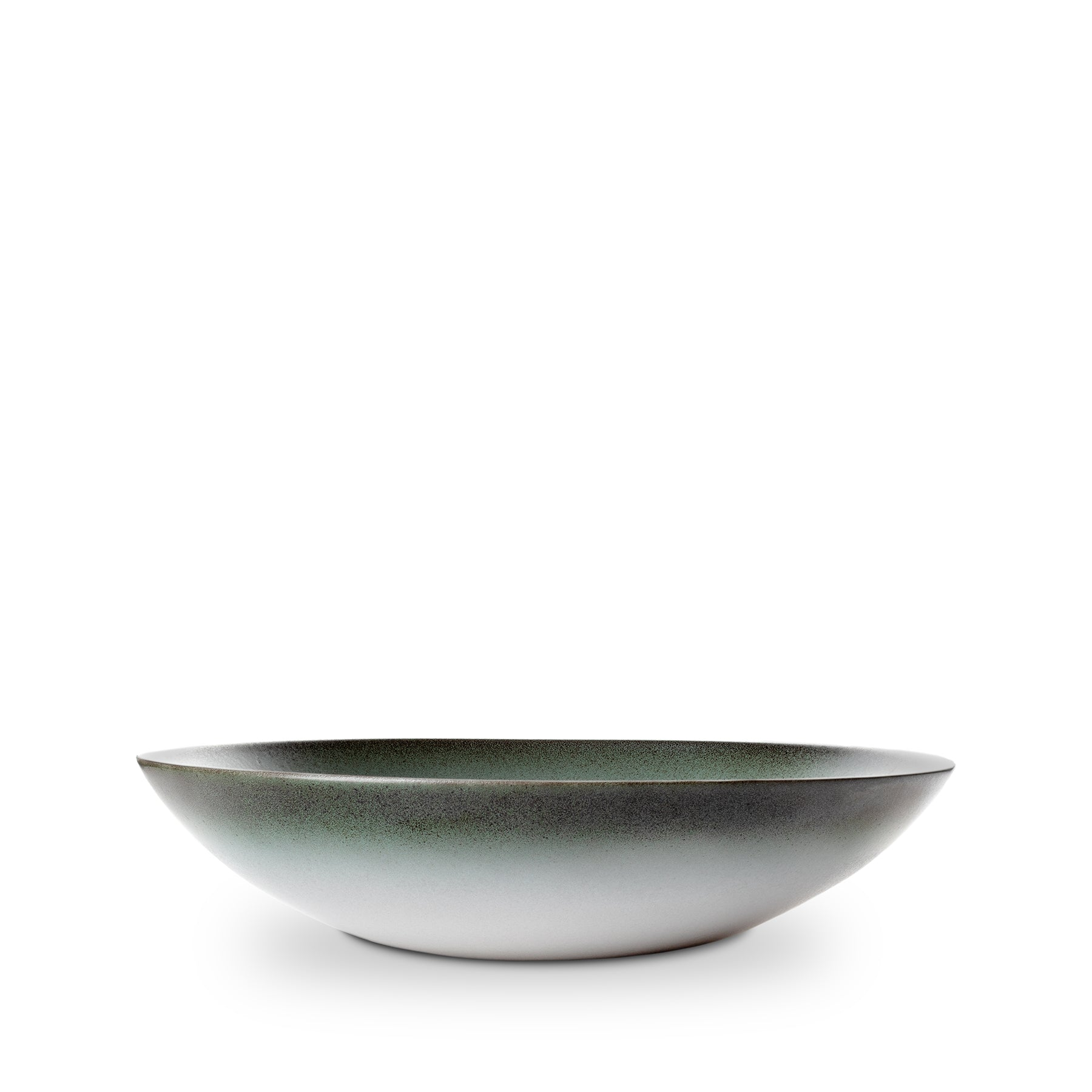 Shallow Salad Bowl in Sea and Sand Zoom Image 1