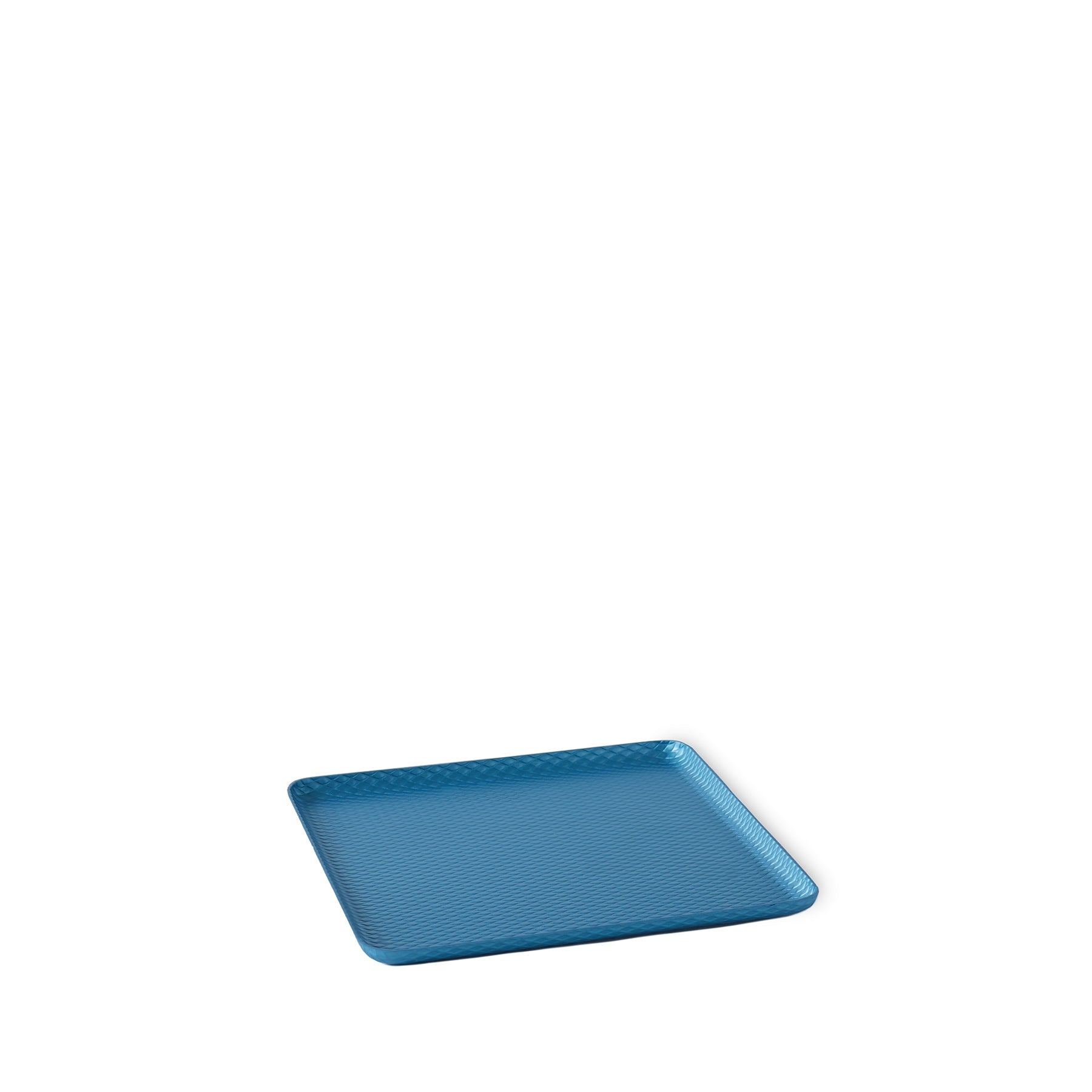 Diamond Pressed Tray in Sky Blue Zoom Image 1