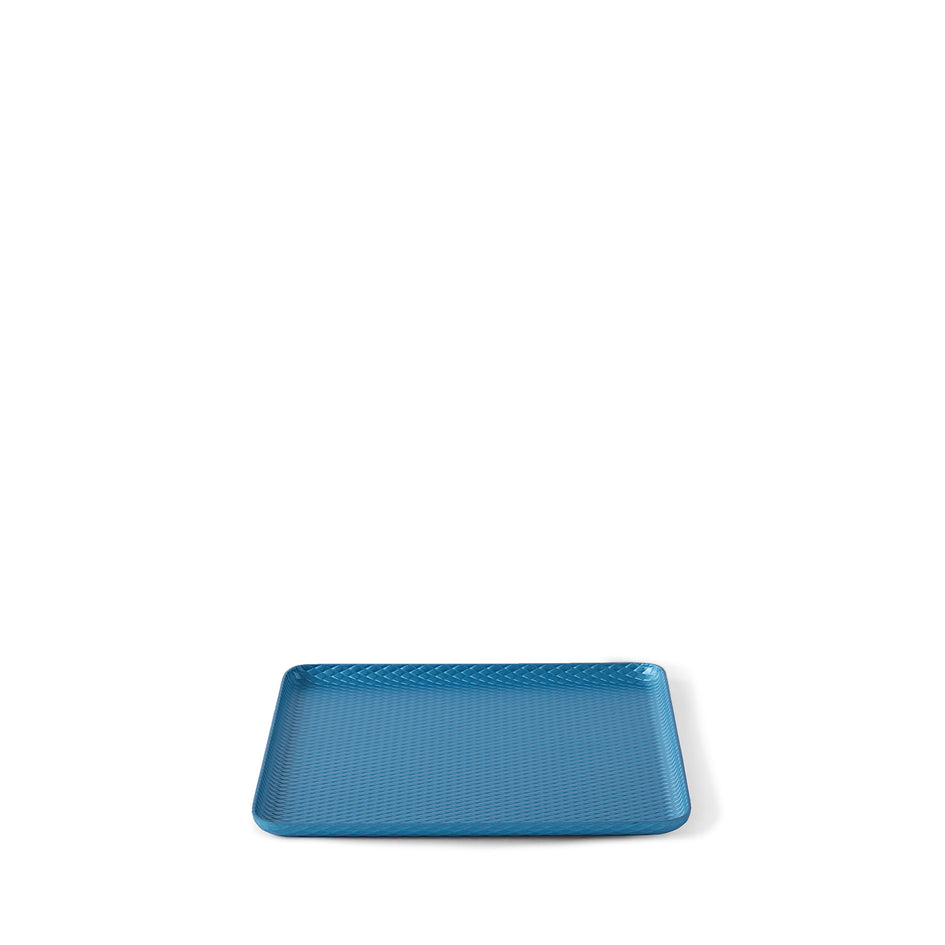 Diamond Pressed Tray in Sky Blue Image 2
