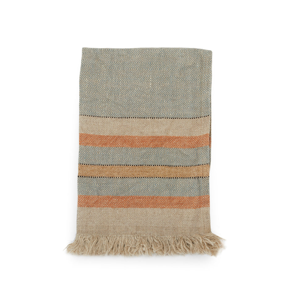 Small Fouta Guest Towel in Multi Stripe Image 1