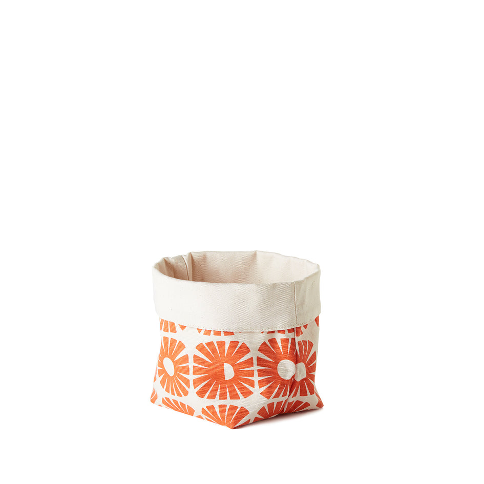 Sunnyside Small Soft Bucket in Persimmon Image 1