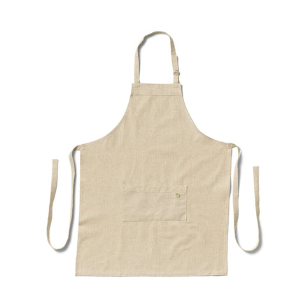 Organic Cotton Apron in Cafe