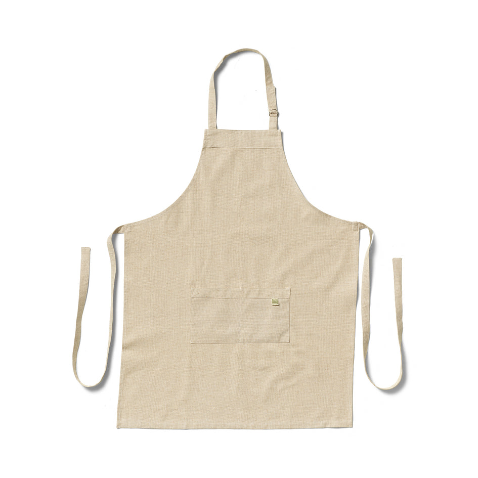 Organic Cotton Apron in Cafe Image 1