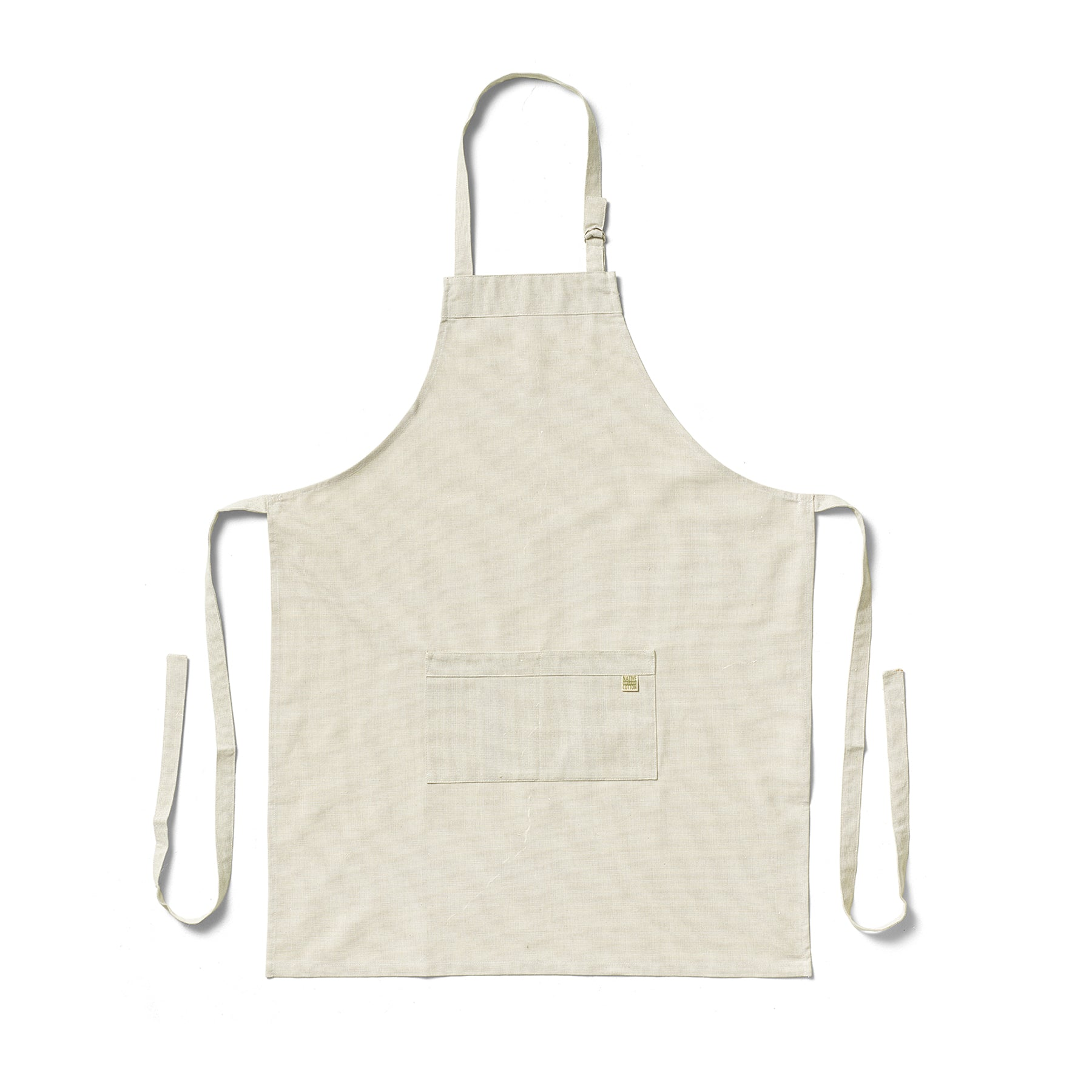 Organic Cotton Apron in Sage Zoom Image 1
