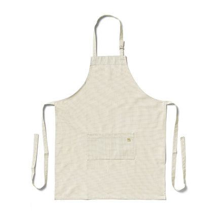Organic Cotton Apron in Sage