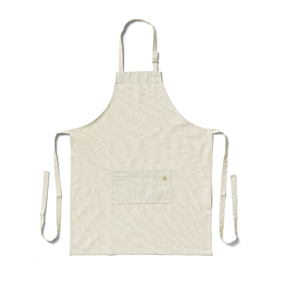 Organic Cotton Apron in Sage Image 1